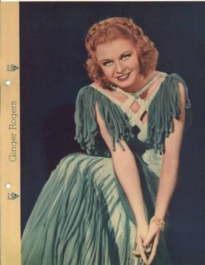 Ginger Rogers 1935 Dixie Premium Photo