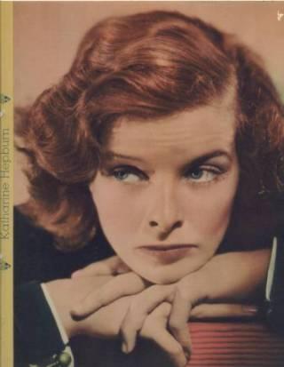 Katharine Hepburn 1935 Dixie Premium Photo