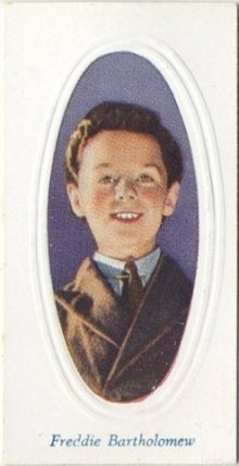 Freddie Bartholomew 1936 Godfrey Phillips Tobacco Card