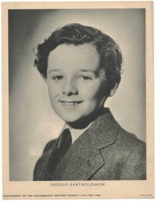 Freddie Bartholomew July 26 1936 M23 Supplement Photo