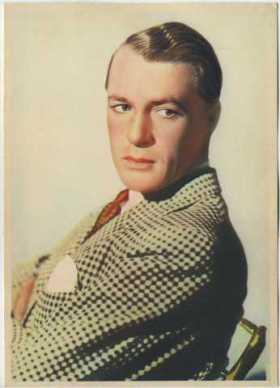 Gary Cooper 1936 Nestle Trading Card