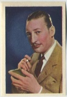 Warren William 1936 Nestle Trading Card
