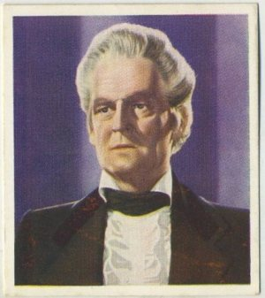 Lionel Barrymore as Andrew Jackson on a 1938 Godfrey Phillips card