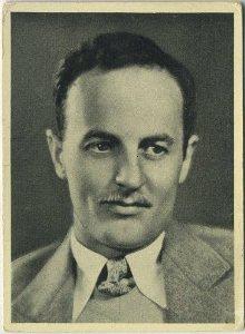 Darryl F. Zanuck 1940 A and M Wix Cinema Cavalcade tobacco card