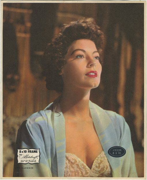 Ava Gardner 1940s Picture Frame Photo Filler