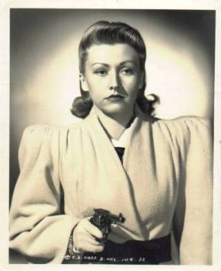 Evalyn Knapp in The Lone Wolf Takes a Chance, 1941