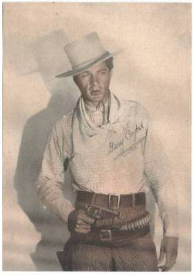 Gary Cooper 1945 Screen Art Cowboys and Cowgirls 5x7 Paper Photo