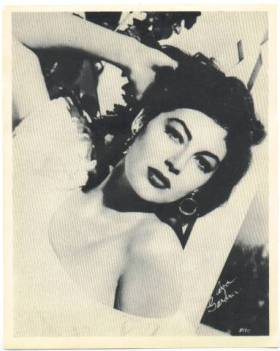 Ava Gardner 1954 Star Company Promotional Photo