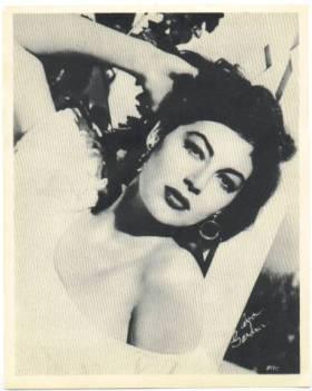 Ava Gardner 1954 Star Company Promotional Photo