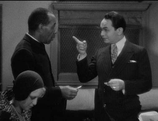 George Reed and Edward G. Robinson