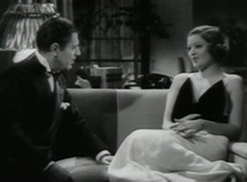 Warner Baxter and Myrna Loy