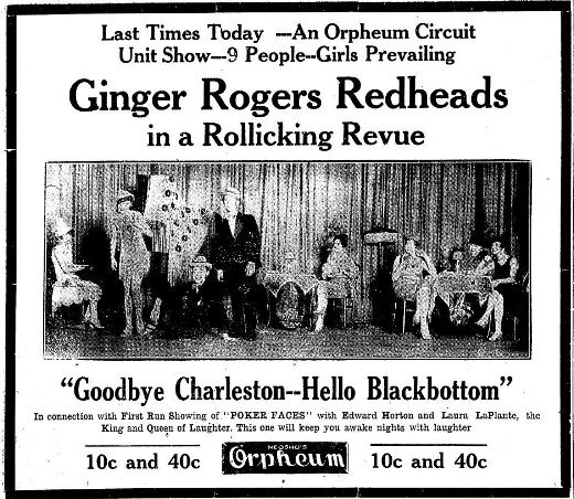 Ginger Rogers and the Redheads