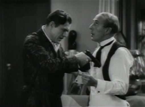 Warner Baxter and Charles Butterworth