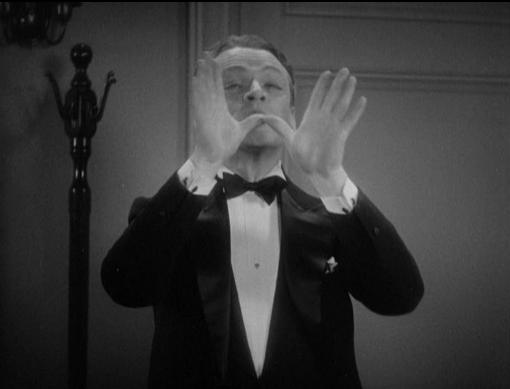 Cagney goes into his mime