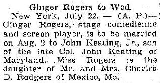 From the Kokomo Tribune, July 22, 1930