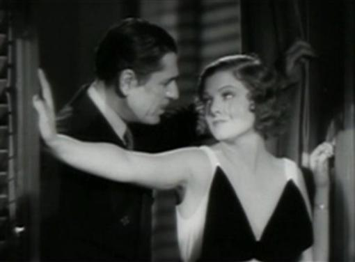 Warner Baxter and Myrna Loy