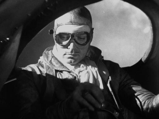 Clark Gable in Night Flight