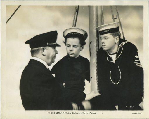 Charles Coburn, Freddie Bartholomew and Mickey Rooney