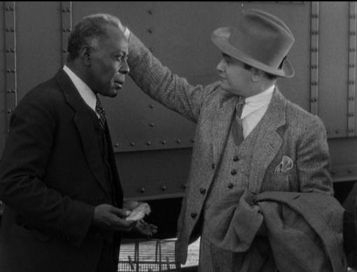 Edward G. Robinson and John Larkin
