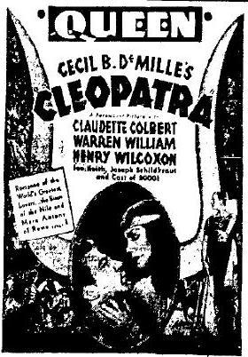 Cleopatra advertisement