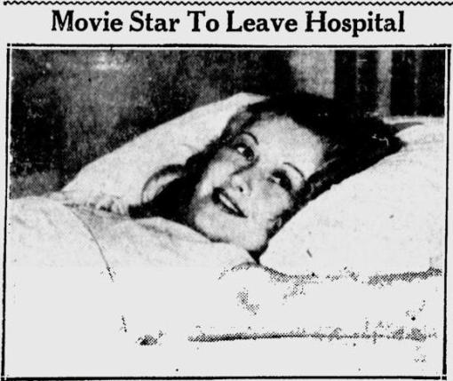 Evalyn Knapp in the news, July 1931