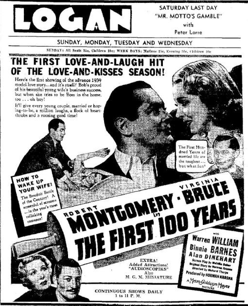 The First Hundred Years advertisement
