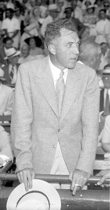 Ford Frick at 1937 All Star Game