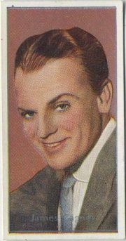 James Cagney 1936 Carreras Tobacco Card