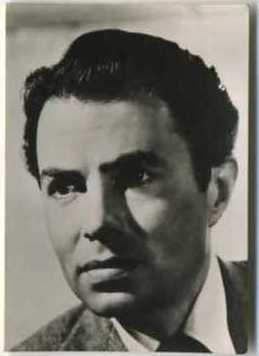 James Mason 1955 Womans Own Trading Card