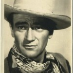 John Wayne 1940s era 5x7 Fan Photo