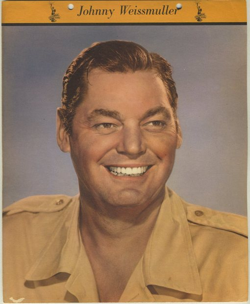 Johnny Weissmuller 1949 Dixie Premium Photo