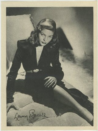 Lauren Bacall 1946 Motion Picture Magazine Premium Photo