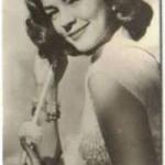 Lauren Bacall 1952 Watford Trading Card