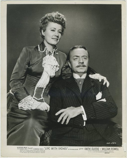 Life With Father still photo picturing Irene Dunne and William Powell