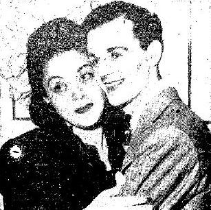 Freddie Bartholomew with first wife, Maely Daniele