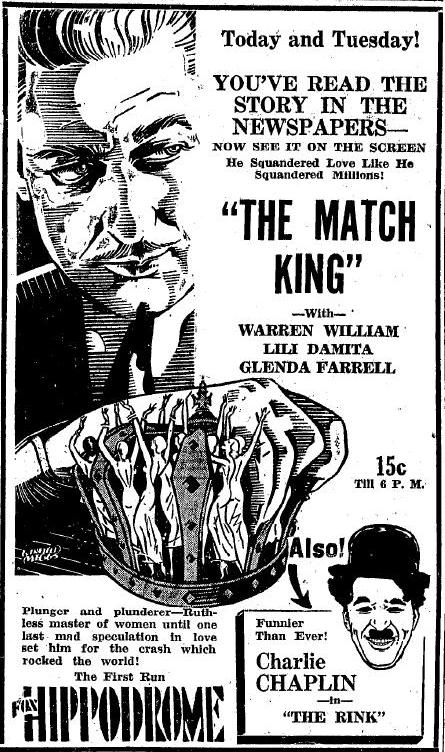 The Match King advertisement