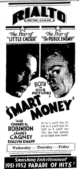 Newspaper ad for Smart Money