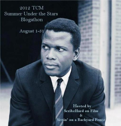 Click to find more Sidney Poitier articles at the Summer Under the Stars blogathon