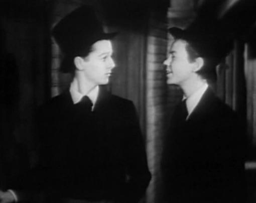 Freddie Bartholomew with Jimmy Lydon