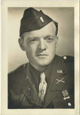 Van Heflin 1940s era 3x5 Fan Photo