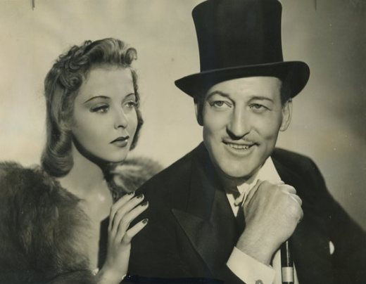 Ida Lupino and Warren William