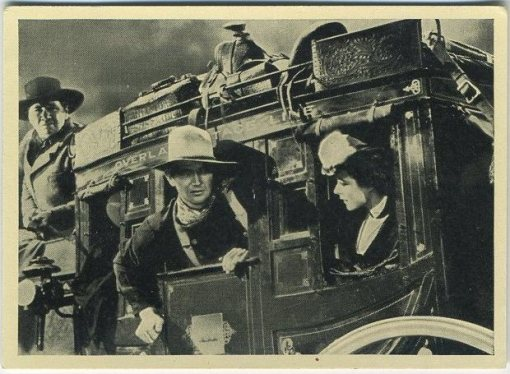 John Wayne Cinema Cavalcade Tobacco Card