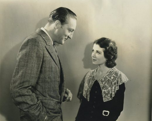 Warren William and Sidney Fox