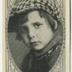 Jackie Coogan E123 American Caramel Trading Card
