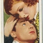 Cary Grant and Myrna Loy 1935 Gallaher Tobacco Card