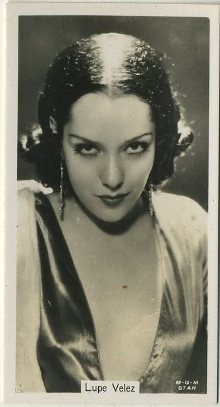 Lupe Velez 1934 Sinclair Tobacco Card