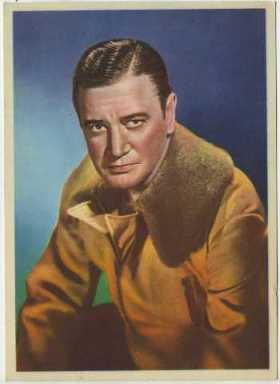 Richard Dix 1936 Nestle Trading Card