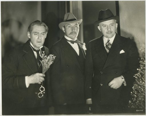 Lionel Barrymore, Lionel Atwill and Jean Hersholt