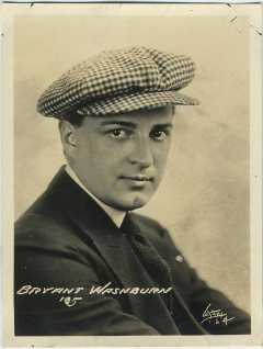 Bryant Washburn 1920 Fox Company Promotional Photo