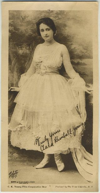 Clara Kimball Young 1916 Water Color Co Premium Photo